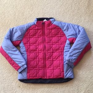 NWT Lands' End quilter winter puffer coat